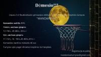 3x3 krepšinio turnyras Mandarinas