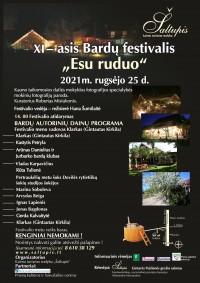 Bardu festivalis 2021