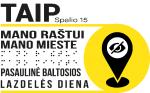 logo prie teksto