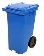 melynas 120 litru talpos konteineris buitinems atliekoms