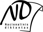 nacionalinis diktantas logotipas