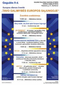 regular e2020 Europosdienai