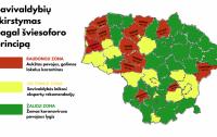 savivaldybes pagal zonas